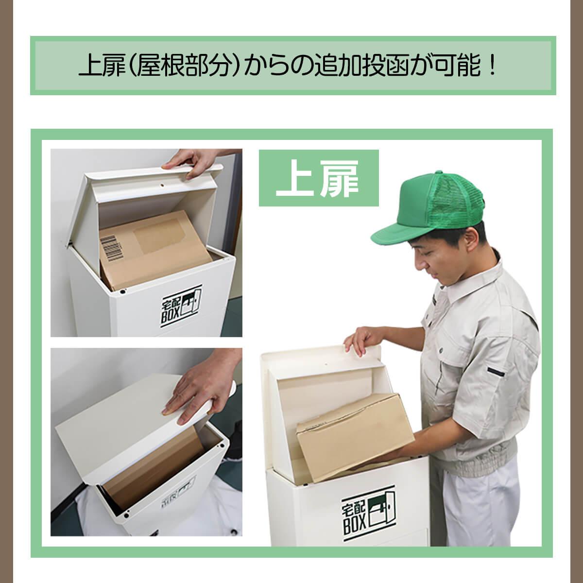 宅配ボックス ルスネコボックス®使い方5