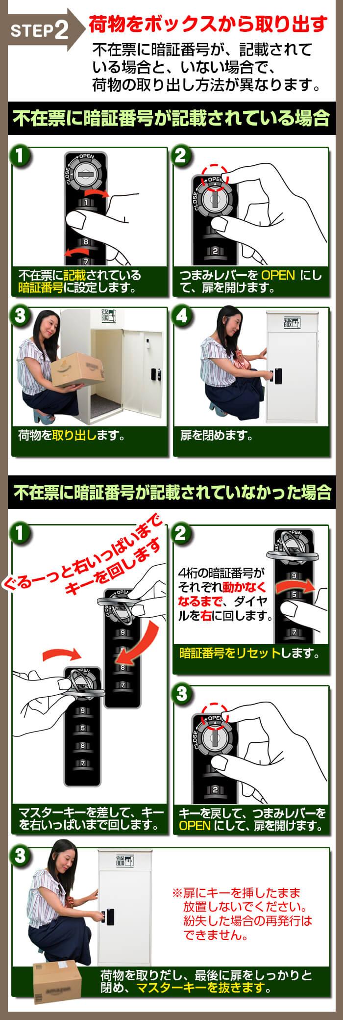 ルスネコボックスの使い方2